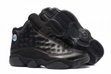 118befde7dd Nike Air Jordan 13 Retro Black Altitude Men Basketball Shoes 310004-031