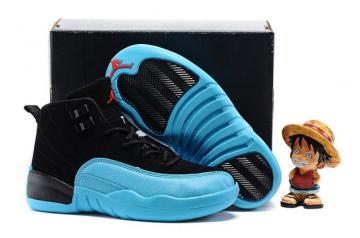 best sneakers 5288f 33ca8 Nike Air Jordan 12 Retro GS Gamma Blue Royal Chicago Bred 153265 027