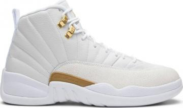 e73b63dc30adce Nike Air Jordan 12 XII Retro OVO White Gold Wings Men Basketball Shoes  873864-102