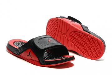 a5ce1b575 Nike Jordan Hydro XII Retro Men Sandals Slides Flue Game Black Red  820265-001