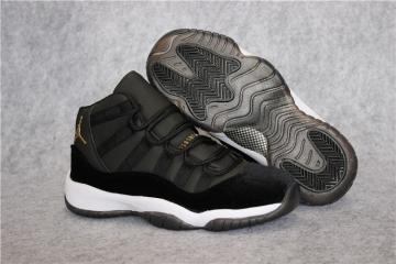best authentic 0b9d6 b7507 Nike Air Jordan 11 XI Retro Heiress Velvet Black Unisex Shoes 852625