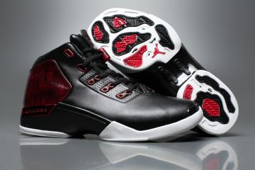6c8f8128db1 Nike Air Jordan 17 Retro Plus XVII Basketball Shoes Chicago Bulls Black Red White  832816-001