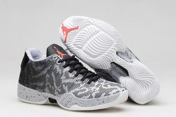 2ae29d6ebc1 Nike Air Jordan XX9 Low 29 Infrared 23 Black Wolf Grey Men Shoes 828051 003