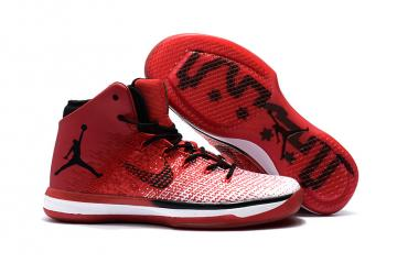 Nike Air Jordan XXXI 31 Red Black White Men Basketball Shoes 845037-600 b4beecf80