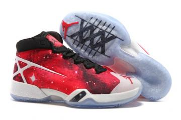 save off d6246 6cee6 Nike Air Jordan XXX 30 Mars Stars Red Black Men Shoes 811006
