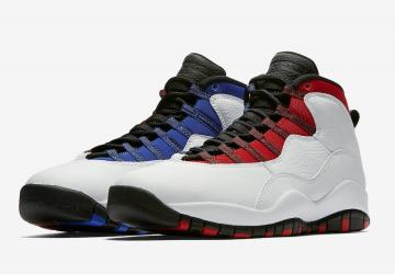 Air Jordan 10 Russell Westbrook Class Of 2006 White Black University Red  Hyper Royal 310805 160 e0a91c3c0