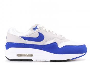 online retailer ed931 667a9 Nike Air Max 1 Anniversary Grey White Royal Game Neutral 908375-101