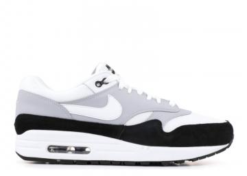 d21bcf877ee4 Nike Air Max 1 Black White Wolf Grey AH8145-003
