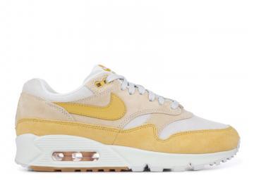premium selection 153cb 72b56 Nike Air Max 90 1 White Yellow WMNS AQ1273-800