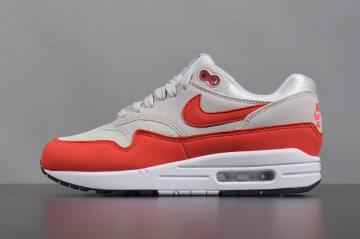 lowest price 563bf e67c2 Womens Nike Air Max 1 Habanero Red White 319986-035