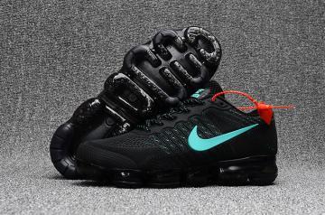 82da36c50f1 Nike Air Max 2018 Running Shoes KPU Men Black Blue 849558-005