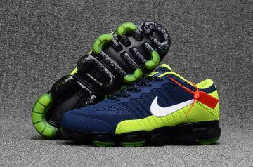 76aed38fb5 Nike Air Max 2018 Running Shoes KPU Men Deep Blue White Green 849558-012