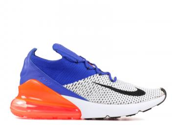 87425a5f11 Air Max 270 Flyknit Blue White Black Racer AO1023-101