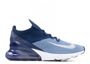 Air Max 270 Flyknit Blue White Work Brave AO1023-400
