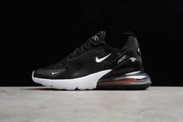 c2c85a0392 Nike Air Max 270 Black White Orange Small Swoosh AH8050-116