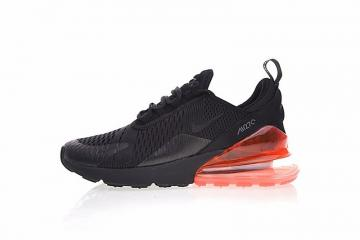 buy online 49de6 3dd39 Nike Air Max 270 Flyknit Triple Black University Red AH8050-016