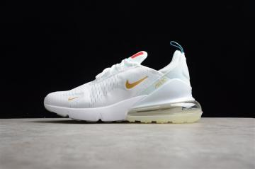 a87defa419 Nike Air Max 270 Flyknit White Orange Blue France AH8050-119