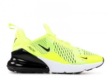 904b03c36820 Nike Air Max 270 Gs Dark Volt White Black Grey 943345-701