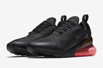 fef6d6edba Nike Air Max 270 Black-Hot Punch AH8050-010