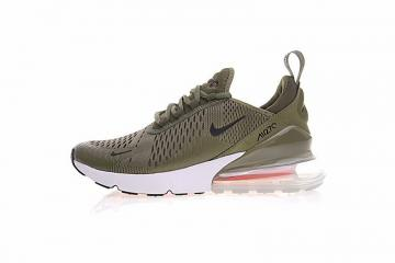 09d5fde491 Nike Air Max 270 Medium Olive Black Athletic Shoes AH8050-201
