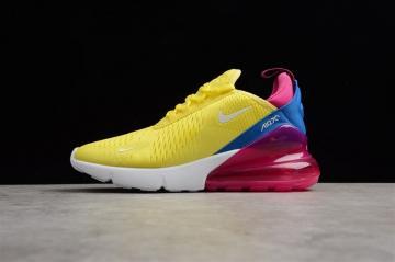 f1ae64508d Nike Air Max 270 Yellow Blue Pink AH6789-700
