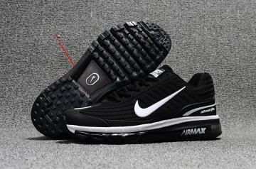 fbea74b74afc2e Nike Air Max 360 KPU Running Shoes Unisex Black White 310908-001