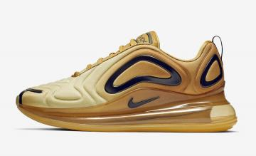 new product ac349 3c8f0 Nike Air Max 720 Gold Black AO2924-700