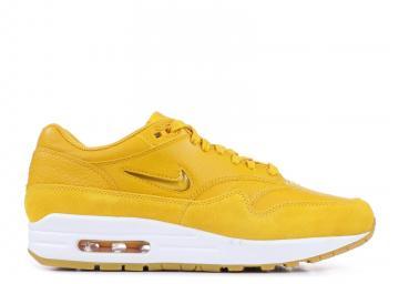 7bb884ba4b Nike Air Max 1 Premium SC Yellow White Womens AA0512-700