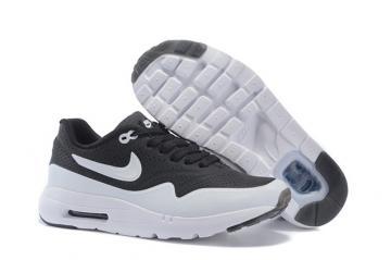 23e04f075fc Nike Air Max 1 Ultra Moire Panda Tuxedo Black White Kid Children Shoes  705297-001