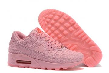 18201f0ff5 Nike WMNS Air Max 90 DMB QS NSW Running Shanghai Must Win Pink Red 813152- 600