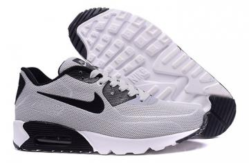 new concept 01841 88863 Nike Air Max 90 Fireflies Glow Men Running Shoes White Grey Black 819474-600