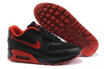 sports shoes 23b91 c6b74 Nike Air Max 90 Hyp Prm Bright Crimson Unisex Safari Running Shoes  454446-661