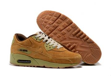 low priced caa8b de721 Nike Air Max 90 Winter PRM Men Women Trainers Sneakers Shoes Wheat Pack  683282-700