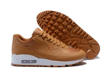 Nike Air Max 90 NS GPX Wheat White Big Logo Men walking Shoes AJ7182-006 219c24562