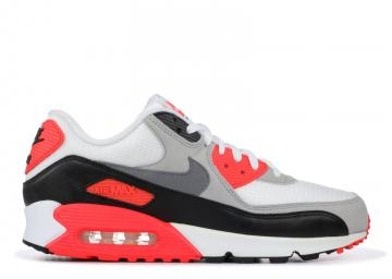 Air Max 90 Og Infrared White Black Grey Cement Infrared 725233-106 f1ee0d1f6