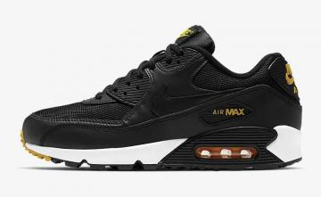 3cdfd4ece1 Nike Air Max 90 Essential Black Anthracite White Amarillo AJ1285-022