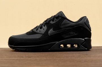 best loved 60fad 0e7be Nike Air Max 90 Essential Black Metallic Glow 537384-046