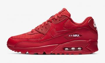 best sneakers 4dd05 16b51 Nike Air Max 90 Essential University Red White AJ1285-602