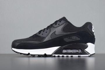 watch 6a82c 5e5dd Nike Air Max 90 Essential White Black Glow 837384-077