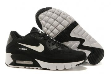 premium selection e36b9 7dacc Nike Air Max 90 Breeze Schuhe Essential Sneakers Black White 644204-009