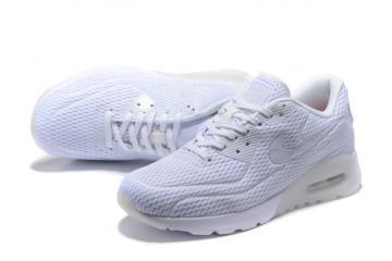 competitive price becd8 d9249 Nike Air Max 90 Ultra BR Breeze Pure Platinum Men Women Running Trainers  725222-012