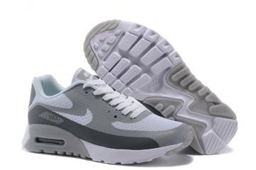 on sale 3c8c6 1f304 Nike Air Max 90 Ultra BR WMNS Shoes White Dark Grey Wolf 725061-101