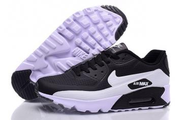 96c9971724 Nike Air Max 90 Ultra Moire Black White Men Running Shoes Trainers  819477-011