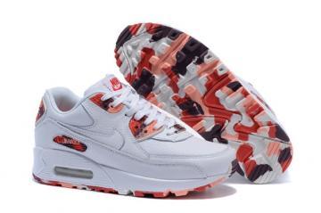 Nike Air Max 90 QS London Eton Mess Shoes White Red WMNS Womens Shoes  813150-100 0cb4f4064