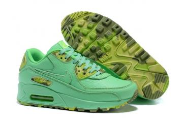 watch 859ba 33499 Nike Air Max 90 QS WMNS Womens Shoes Mint Green Yellow 813150-102