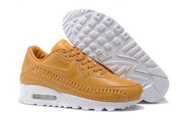promo code 03da1 3917d Nike Air Max 90 Woven Vachetta Tan Leather Pinnacle Nikelab QS AM90 NSW  833129-200