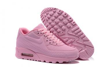 7406ec0179 Nike Air Max 90 Woven Women Shoes Women Training Running Shoes Light Pink  833129-012