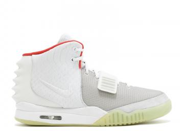 3eb1af7907 Air Yeezy 2 Nrg Platinum Wolf Grey Pure 508214-010
