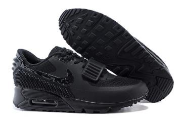 quality design 1b718 adb08 Nike Air Max 90 Air Yeezy 2 SP Casual Shoes Lifestyle Sneakers All Black  508214-602