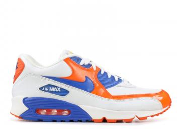 4a1b522f44eee Air Max 90 Premium Elmer's Glue Orange Blue White Royal Blaze 315728-141
